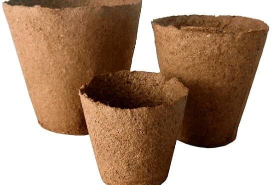 торфяні стаканчики від виробника