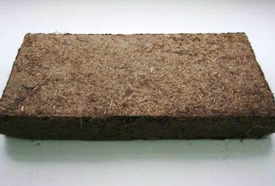 теплоізоляційна плита з торфу